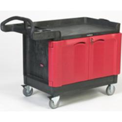 TradeMaster® Cart with 2-Door Cabinet (Large)