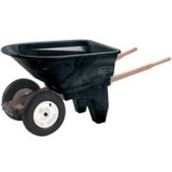 6.5 cu ft Two-Wheel Contractor Wheelbarrow (Unassembled)