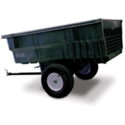 15 cu ft Tractor Cart (Unassembled), Gray