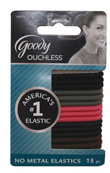 Goody Ouchless Elastic Bands - 15 ct.