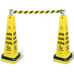 Cone Barricade System Consists of: 6276, (1) Belt Cassette and (1) Double Weight Ring