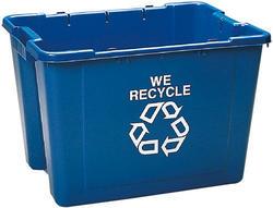 Blue Recycling Box
