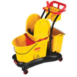 WaveBrake® Mopping Trolley Down Press