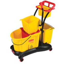 WaveBrake® Mopping Trolley Side Press
