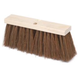 Hardwood Block, Polypropylene Fill Street Broom
