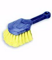 Short Plastic Handle Utility Brush (Synthetic Fill)