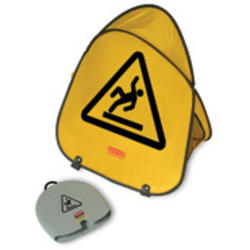 Folding Safety Cone with International Wet Floor Symbol