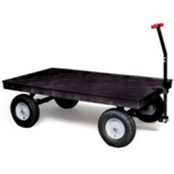 "Heavy-Duty Platform Convertible Wagon with 12"" (30.5 cm) Pneumatic Wheels"