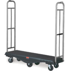 StockMate® Restocking Truck, Utility Deck, Olefin Wheels and Casters