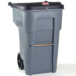 BRUTE® 65 Gallon Confidential Document Rollout Container