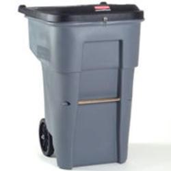 BRUTE® 95 Gallon Confidential Document Rollout Container