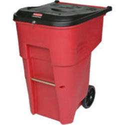 BRUTE® 95 Gallon Medical Waste Rollout Container