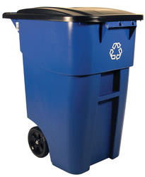 BRUTE® 95 Gallon Rollout Container