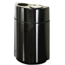 Half Round Open Top Ash/Trash Container