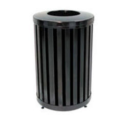 Round Open Top Trash Container