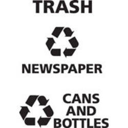 """Recycle Decals for Classics """"NEWSPAPER"""""""