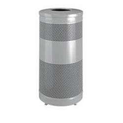Drop Top Trash Containers w/ Levelers