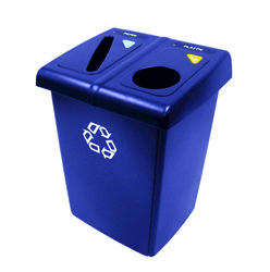 Glutton Blue 2-Stream Recycling Station