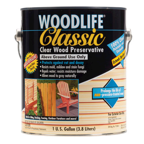 Wolman Woodlife Classic Clear Wood Preservative 1 Gal At Menards