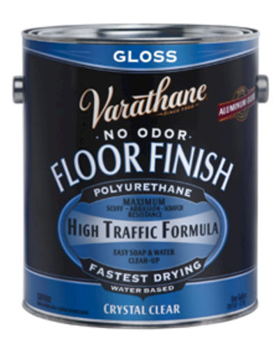 Varathane Crystal Clear Gloss Water Based Floor Finish 1 Gal At Menards