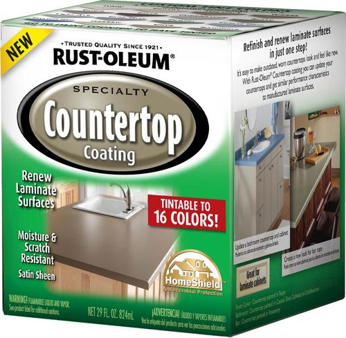 Rust-Oleum® Specialty Tintable Countertop Coating Kit At