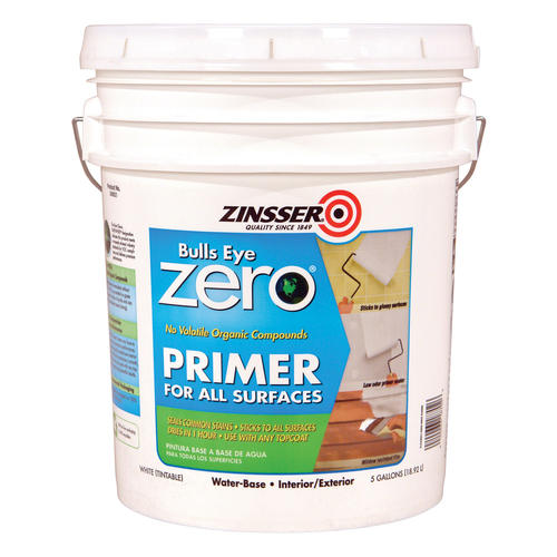 Zinsser bulls eye zero all surface primer 5 gal at menards - Zinsser exterior paint pict ...