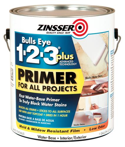 Zinsser bulls eye 1 2 3 plus all purpose primer 1 gal at menards - Zinsser exterior paint pict ...