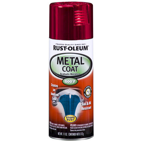 rust oleum high gloss red metal coat spray paint 12 oz at menards. Black Bedroom Furniture Sets. Home Design Ideas