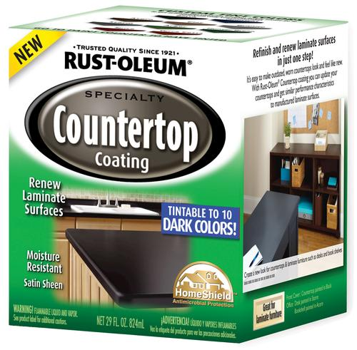 Rust-Oleum? Specialty Dark Base Countertop Coating Kit at Menards?