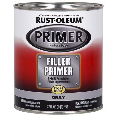 Rust Oleum Automotive Gray Filler Primer 1 Qt At Menards