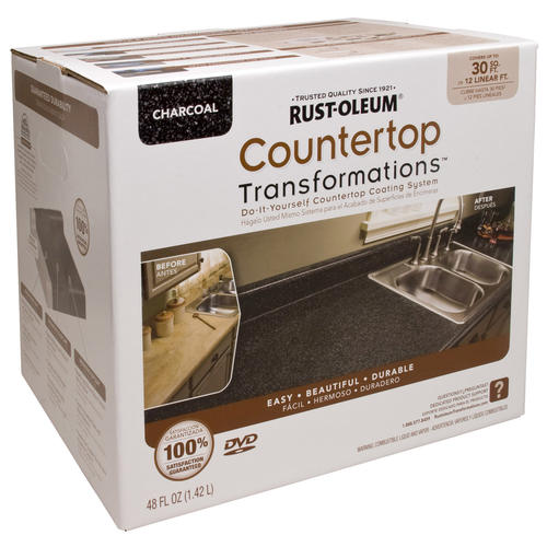 ... -Oleum? Countertop Transformations Charcoal Coating Kit at Menards