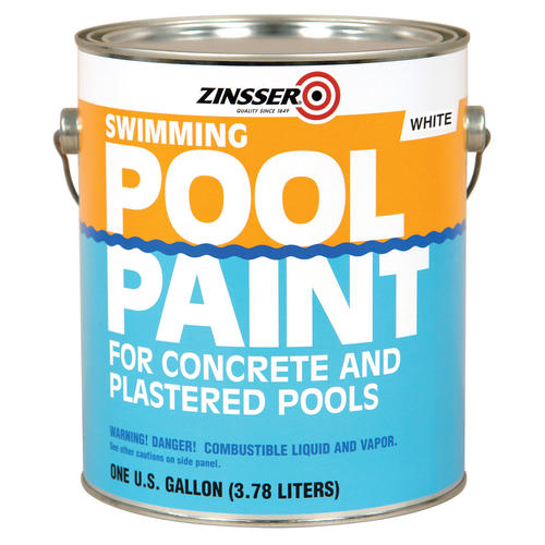 Zinsser white swimming pool paint 1 gal at menards - Zinsser exterior paint pict ...