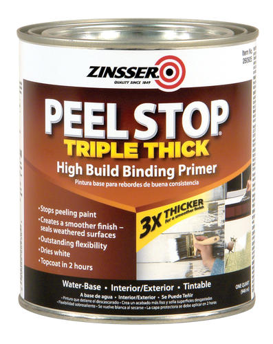 Zinsser peel stop triple thick high build binding primer 1 qt at menards - Zinsser exterior paint pict ...