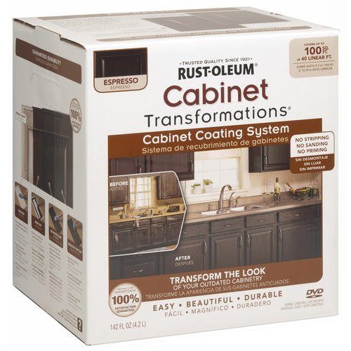 Rust Oleum? Cabinet Transformations Small Espresso Coating Kit at