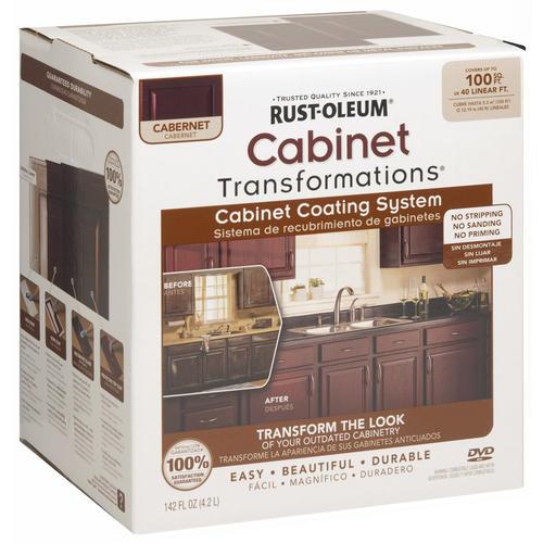 ... ? Cabinet Transformations Small Cabernet Coating Kit at Menards