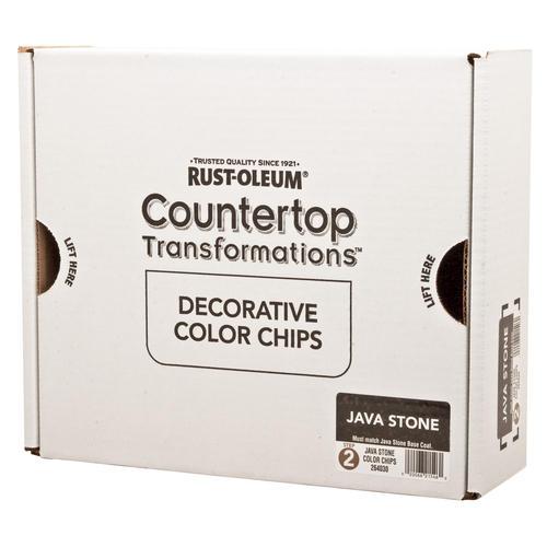 Rustoleum Countertop Paint Java Stone : Rust-Oleum? Countertop Transformations Decor Java Stone Color Chips ...