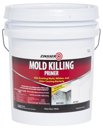 Zinsser mold killing primer 5 gal at menards - Zinsser exterior paint pict ...