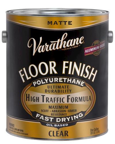 Varathane matte oil based floor finish 1 gal at menards - Clear matt varnish for exterior wood ...