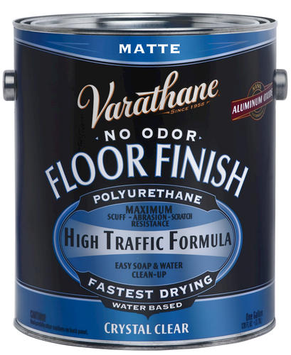 Varathane matte water based floor finish 1 gal at menards - Clear matt varnish for exterior wood ...