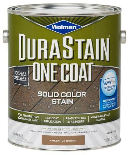Wolman durastain one coat solid color stain chestnut - Chestnut brown exterior gloss paint ...