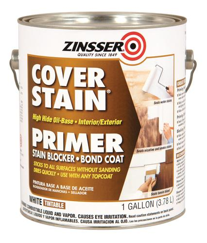 Zinsser cover stain white high hide oil base primer 1 gal - Zinsser exterior paint pict ...