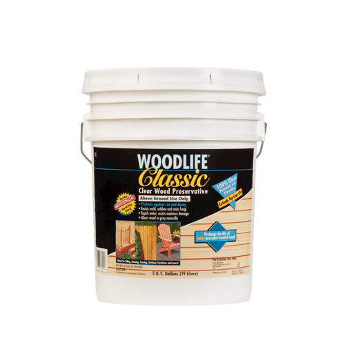 Wolman Woodlife Classic Clear Wood Preservative 5 Gal At Menards