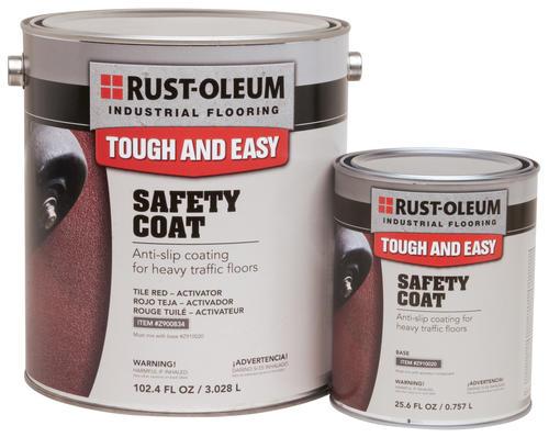 Anti Slip Floor Safety Grooving : Rust oleum industrial flooring blue anti slip safety