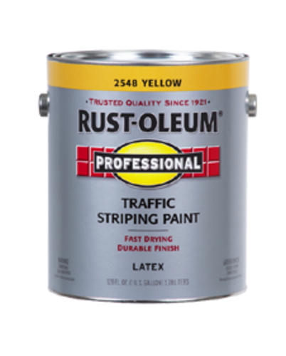 Rust Oleum 174 Professional Yellow Traffic Striping Paint 1