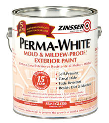 Perma-White Semi-Gloss Exterior Paint - 1 gal.