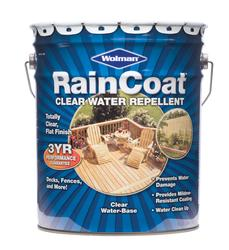 Wolman™ RainCoat® Clear Water-Base Water Repellent - 5 gal.