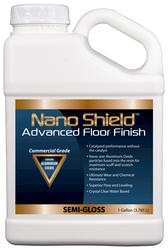 Nano Shield Semi-Gloss Advanced Floor Finish - 1 gal.