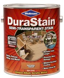 Wolman™ DuraStain® Natural Cedar Semi-Transparent Stain - 1 gal.