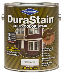 Wolman™ DuraStain® White Base Solid Color Stain - 1 gal.