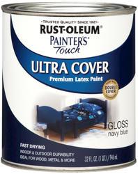 Rust-Oleum® Painter's Touch Gloss Navy Blue Ultra Cover Paint - 1 qt